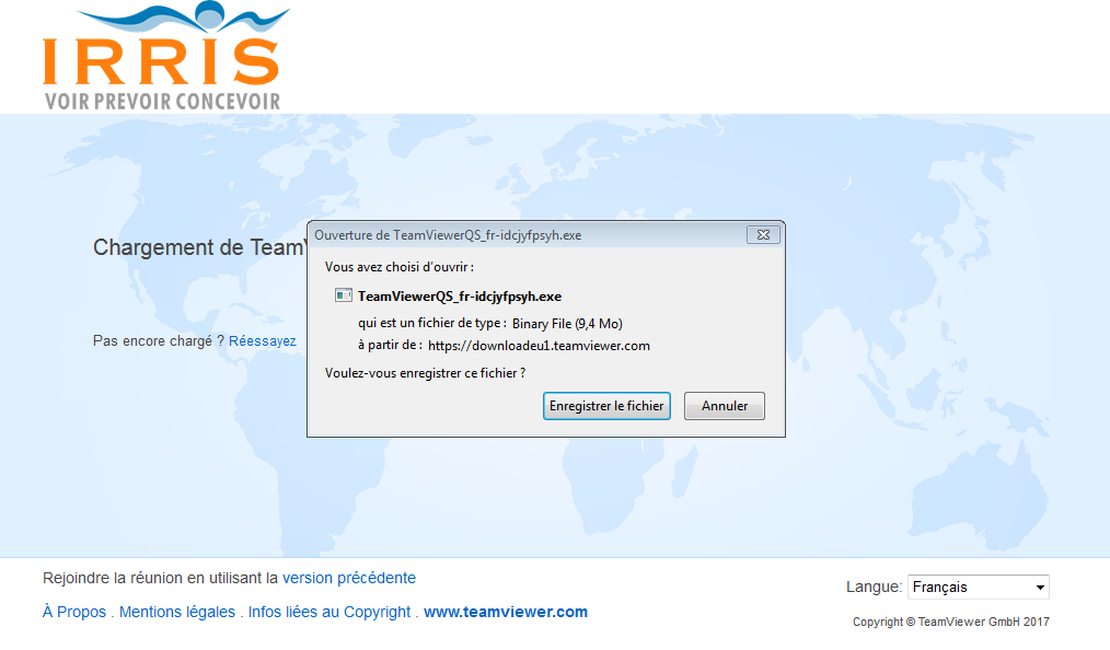 enregistrer assistance teamviewer