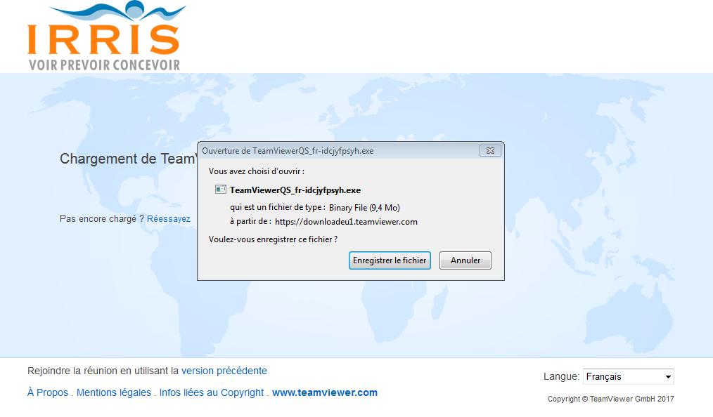 enregistrer assistance teamviewer